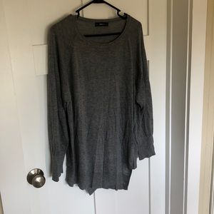 ZARA knit gray sweater